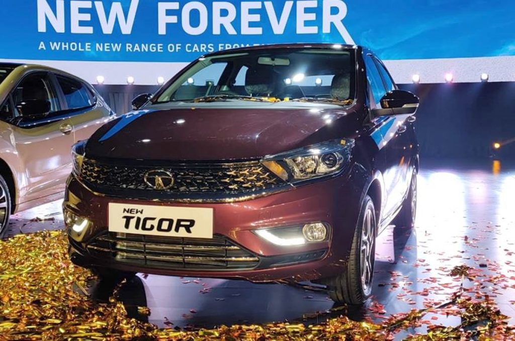 Tata Tigor facelift launched in India for a starting price of Rs 5.75 lakhs
