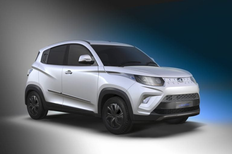 Mahindra KUV 100 EV Launched At The 2020 Auto Expo