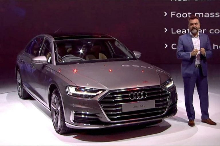 2020 Audi A8 L Launched in India for a Price of Rs. 1.56 Crore
