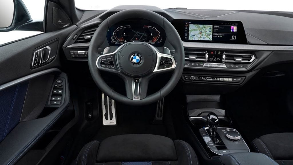 BMW 2-Series Gran Coupe interiors