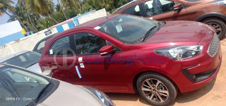 What Changes Will BS6 Ford Figo Get? – New Spy Shots