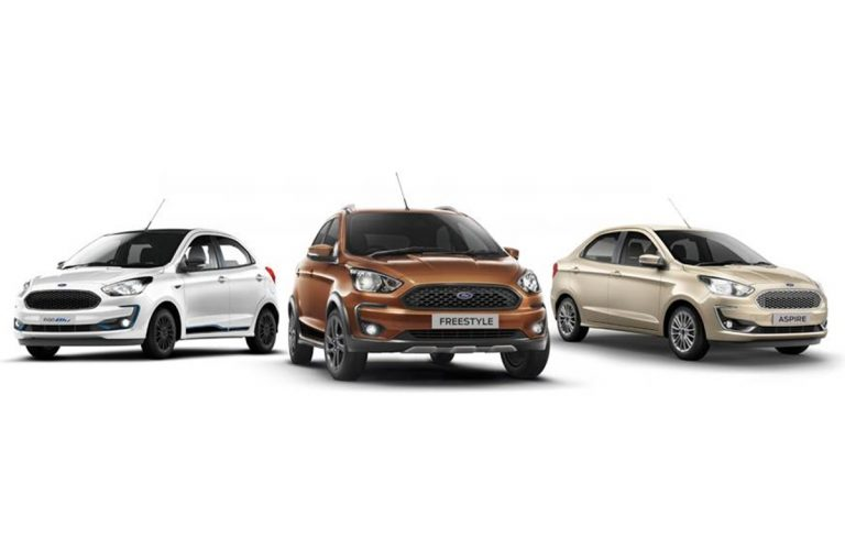 BS6 Ford Figo, Freestyle And Aspire Launched – Complete Price List