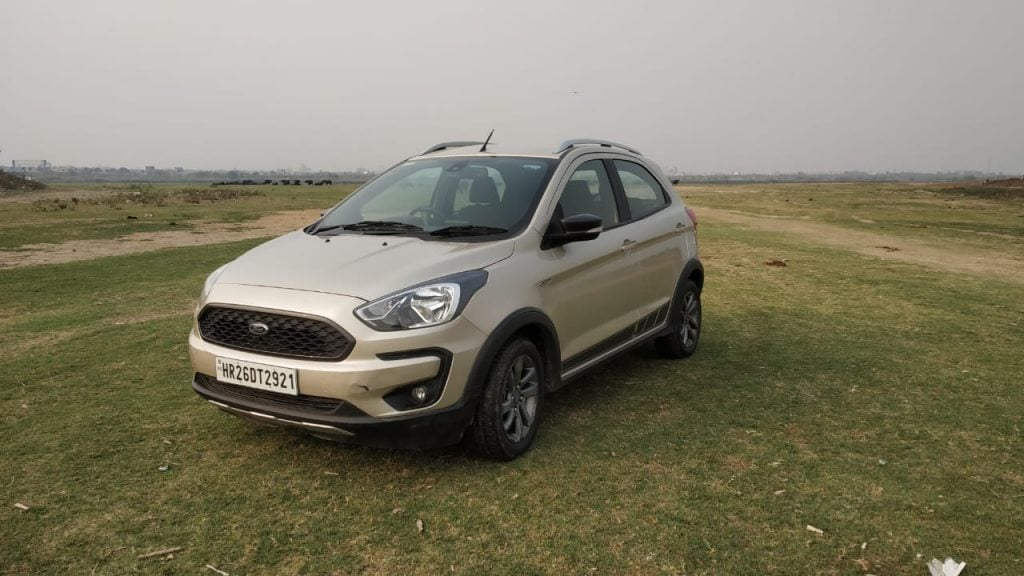We have a Ford Freestyle petrol in top-spec Titanium trim as our long termer.