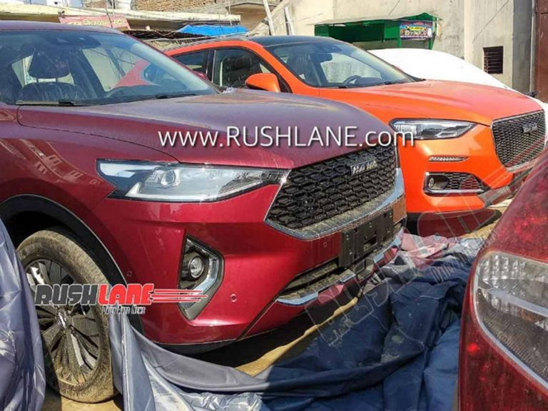 Haval F5 and F7 SUV Spied in India Ahead of 2020 Auto Expo Debut