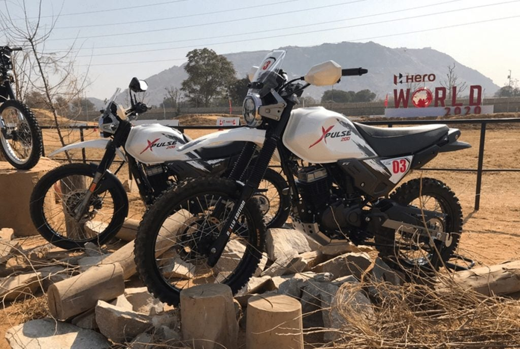 Hero launched Rally Kit for the XPulse 200 for a price of Rs 38,000