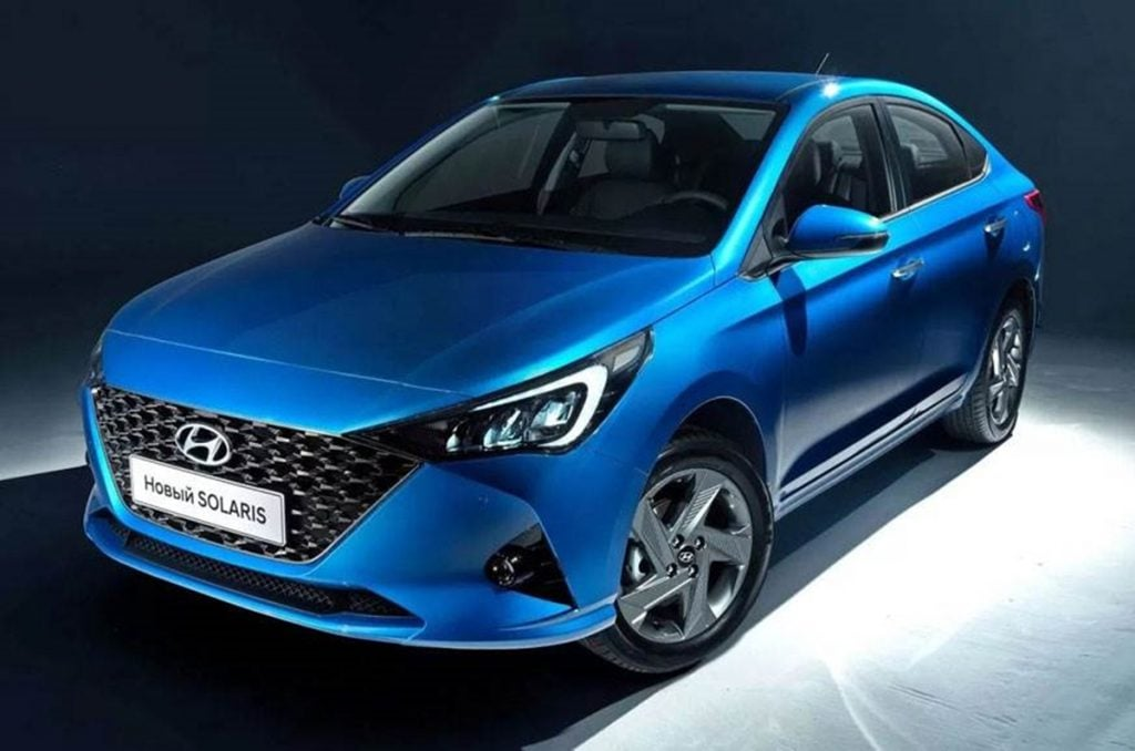 Hyundai has unveiled the Verna Facelift for the Russian market