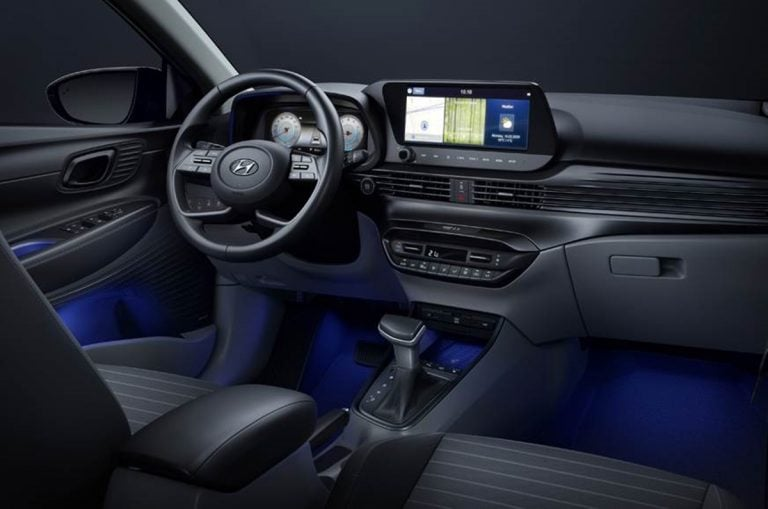 Here is First Image of the Interiors of the Next-Gen 2020 Hyundai i20