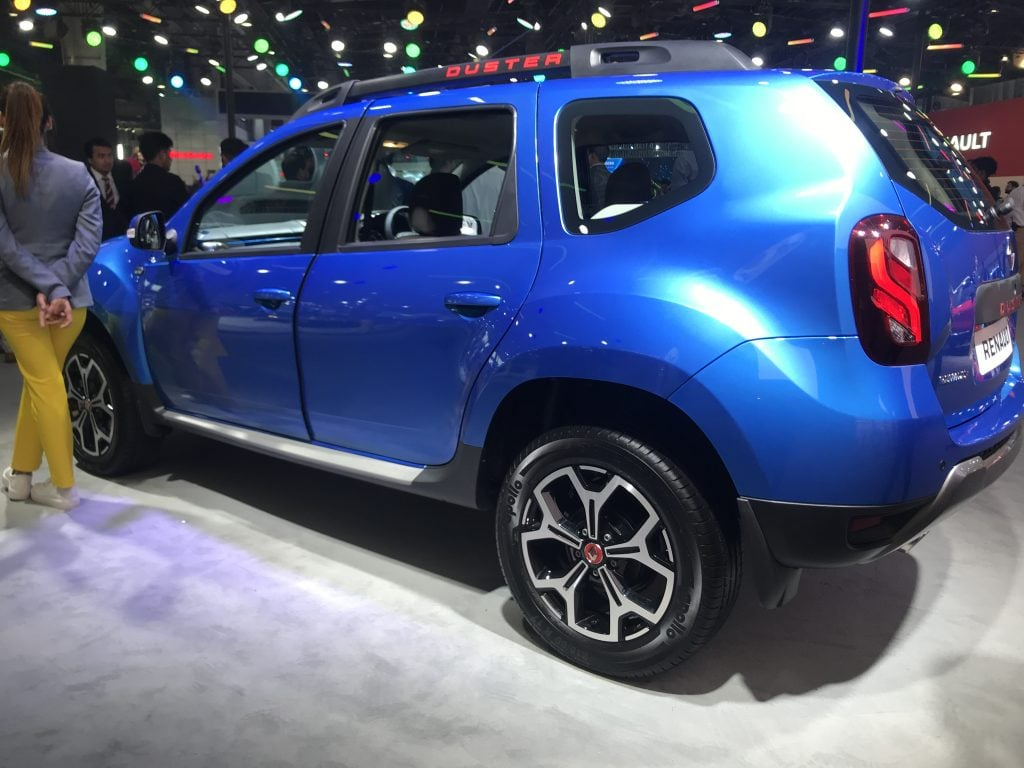 Renault will launch the Duster with a new turbo-petrol engine in India