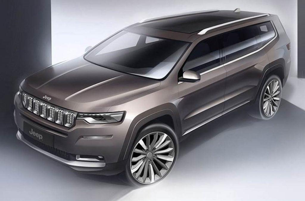Il y aura également un SUV à sept places de Jeep pour rivaliser avec Endeavour et Fortuner.