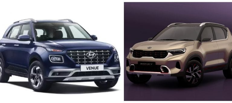 All Differences And Similarities Between Hyundai Venue And Kia Sonet Listed!