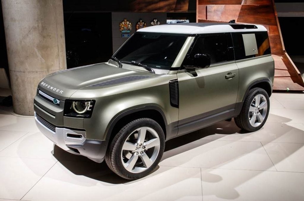 Land Rover Defender launched in India with price starting from Rs 73.98 lakh.