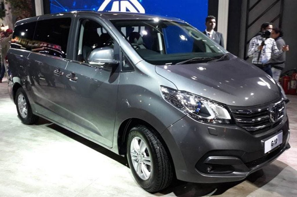MG Unveils G10 MPV at the 2020 Auto Expo