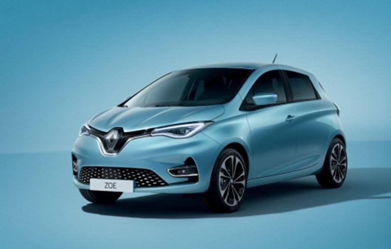 Renault Teases Zoe EV Ahead of Showcase at 2020 Auto Expo