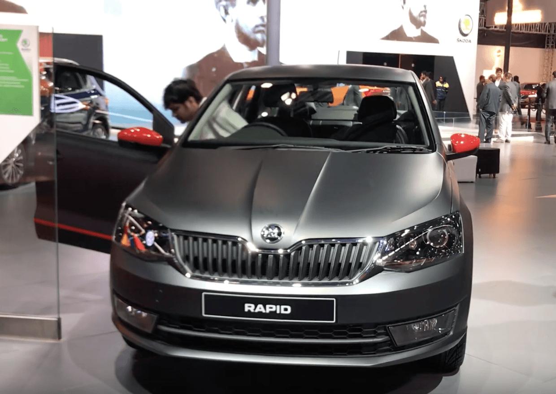 Skoda Rapid 1 0 Litre Turbo Petrol Shown At Auto Expo 2020