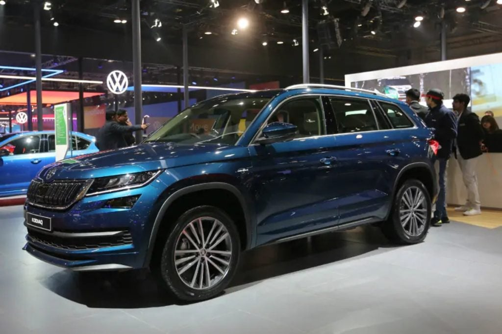 The Skoda Kodiaq Petrol shown at the 2020 Auto Expo will be launched in the second quarter of this year