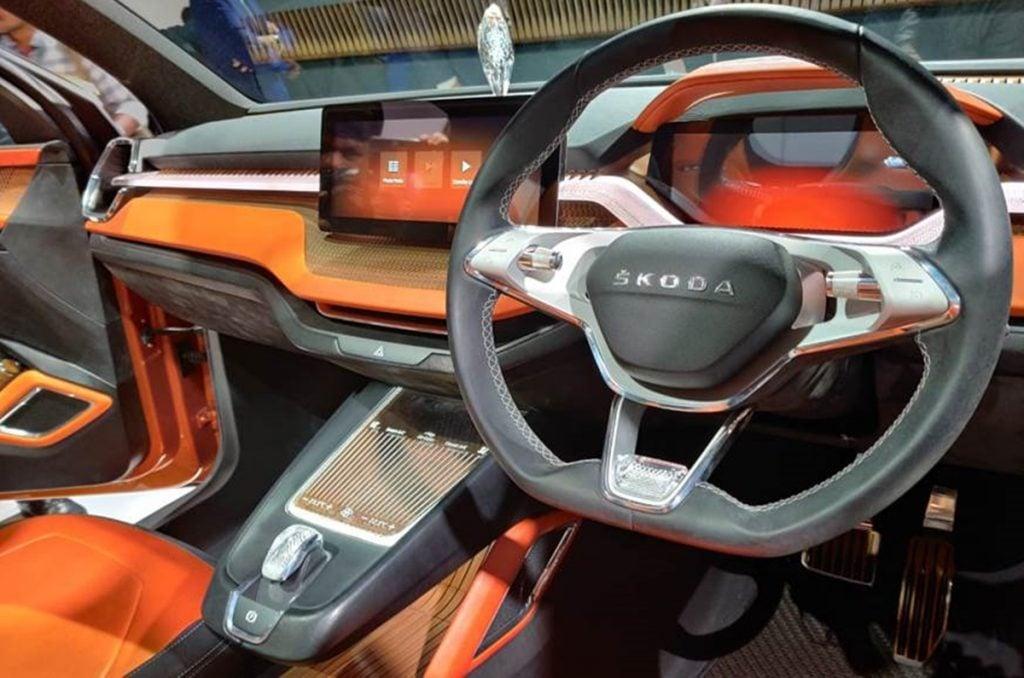 Skoda Vision IN concept interiors.