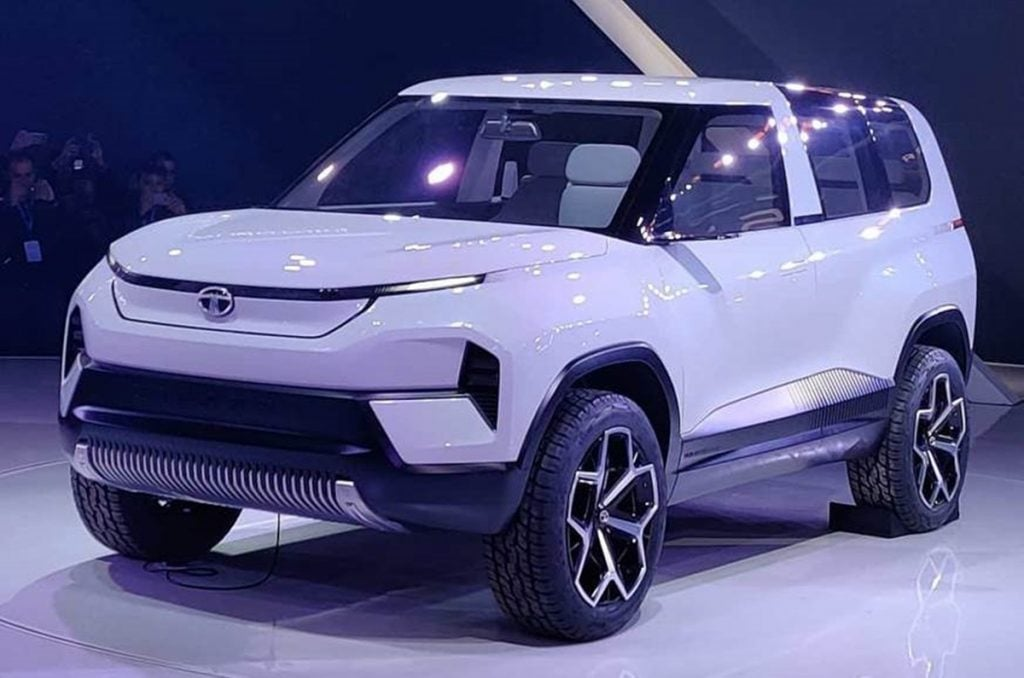 Tata brough back an iconic nam plate with the Sierra EV concept at the 2020 Auto Expo.