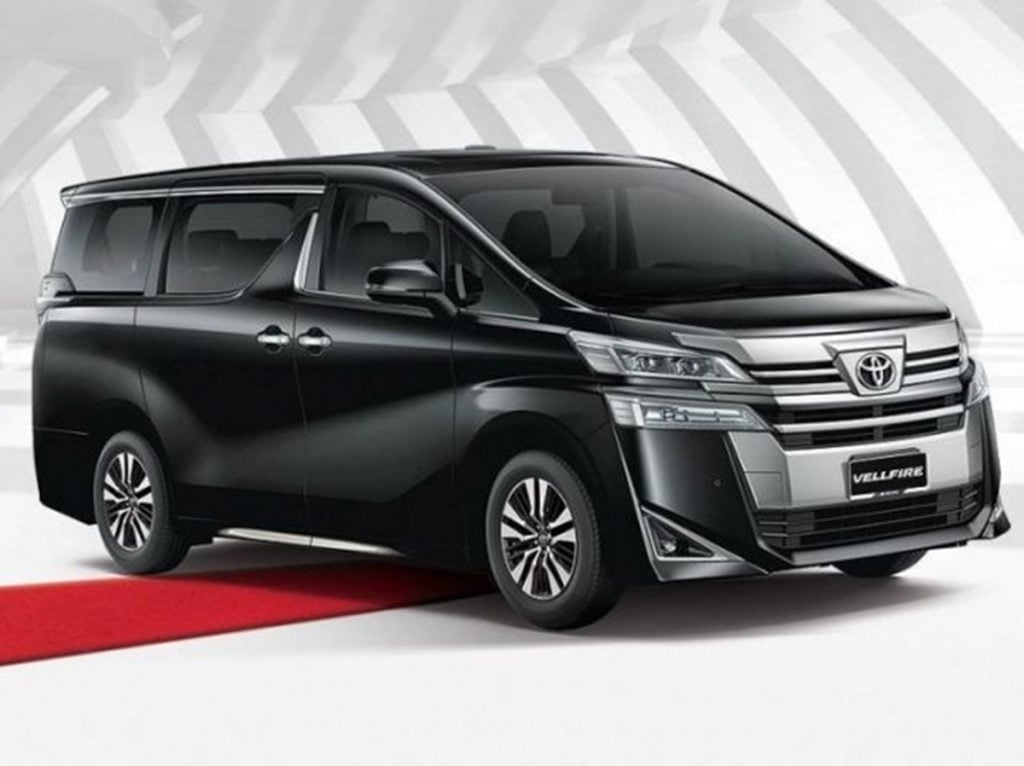 Toyota will launch the Vellfire in India on February 26