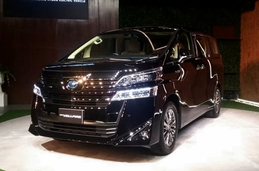 Toyota Vellfire launched in India for a price of Rs 79.50 lakhs, ex-showroom.