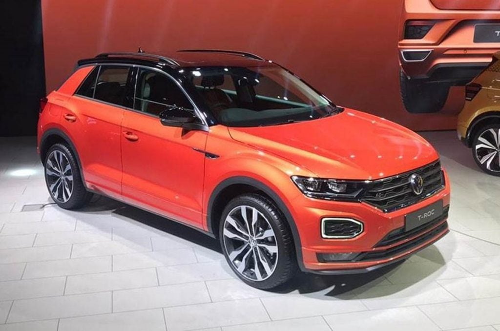 Volkswagen T-Roc will come to India as a CBU