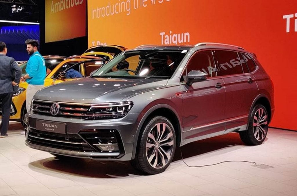 Volkswagen Tigaun AllSpace will launch in India around mid-2020 and will come as a CBU