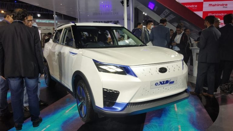 Mahindra XUV300 EV Unveiled At Auto Expo 2020; Launch By H2 2021