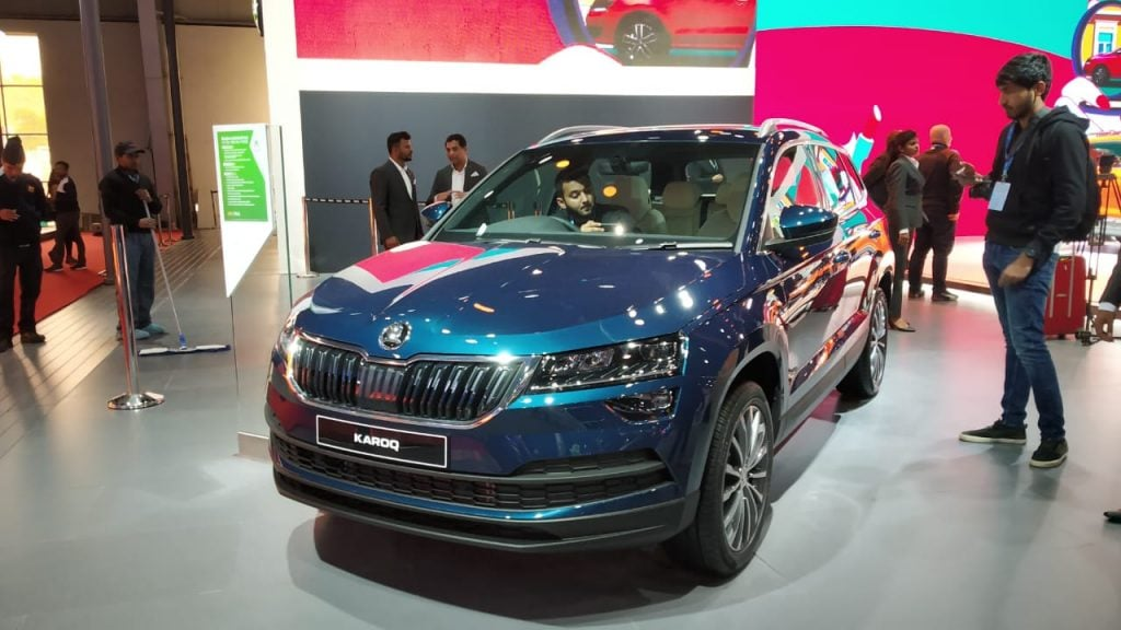 Skoda KaroqSkoda will launch the Karoq in India on May 26 at an expected price of about Rs 24 lakh.