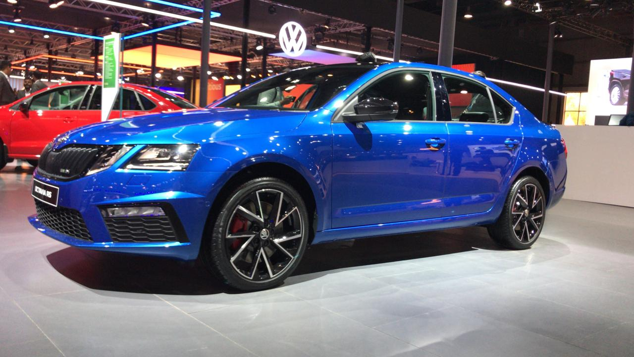 Skoda Octavia Rs 245 Booking In India Open On March 1