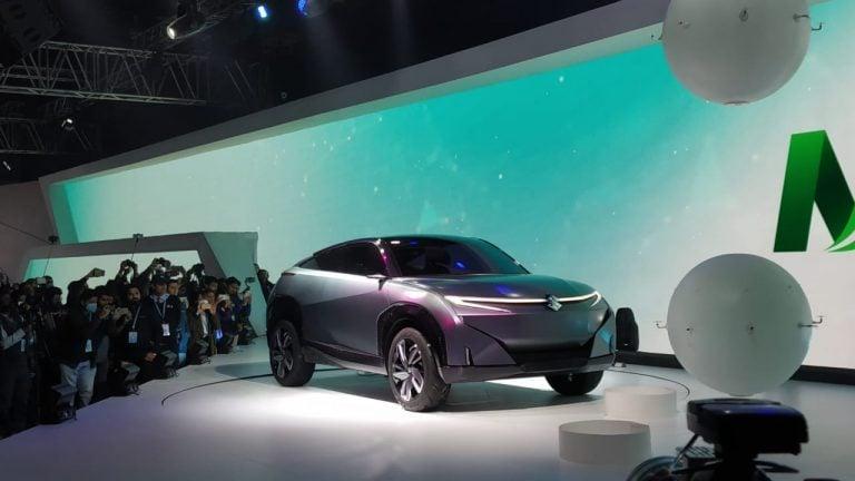 Maruti Futuro E Concept Unveiled At The Auto Expo 2020