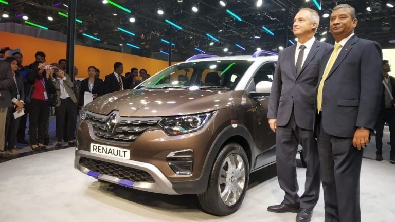 Renault Triber AMT Introduced At The Auto Expo 2020