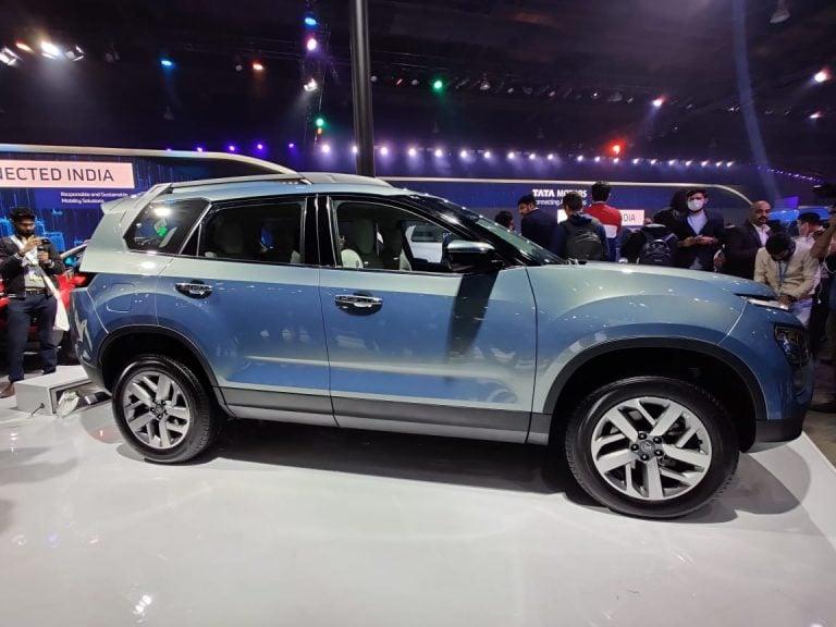 7-Seater Tata Gravitas Makes A Debut At The Auto Expo 2020
