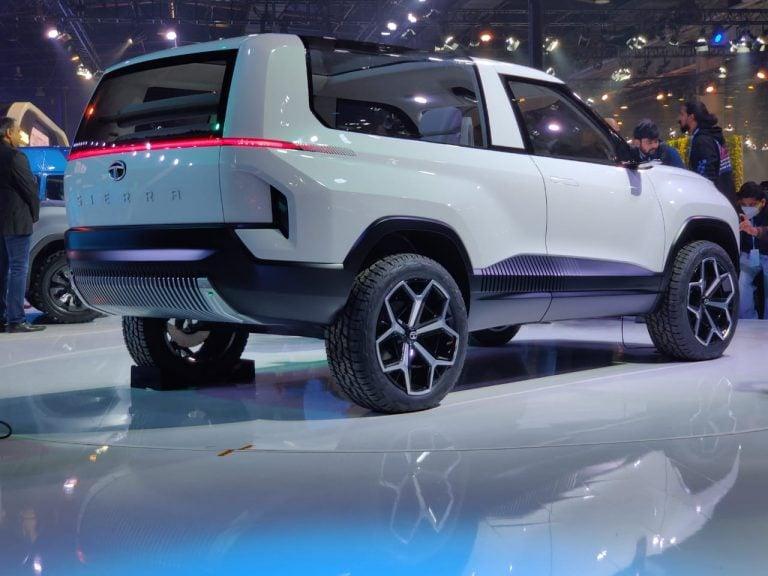 Tata Sierra Concept Makes A Comeback At The Auto Expo 2020