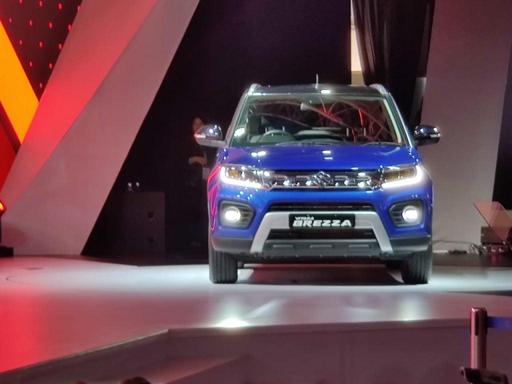 Maruti Suzuki Vitara Brezza Facelift Petrol