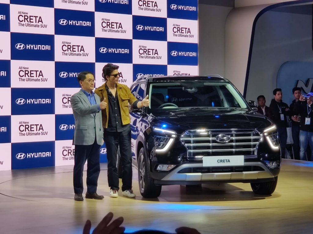 The Hyundai Creta was first unveiled at the 2020 Auto Expo