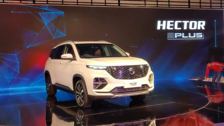 Three-Row MG Hector Plus Will See Its Launch in June 2020