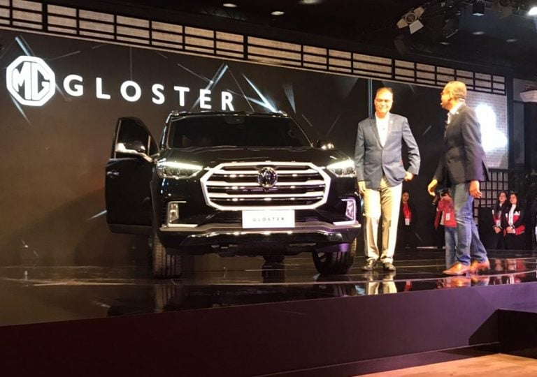 2020 Auto Expo – MG Gloster Full-Size SUV Unveiled