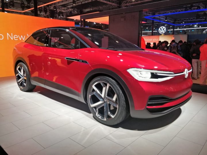 Volkswagen ID Crozz Concept showcased at the 2020 Auto Expo