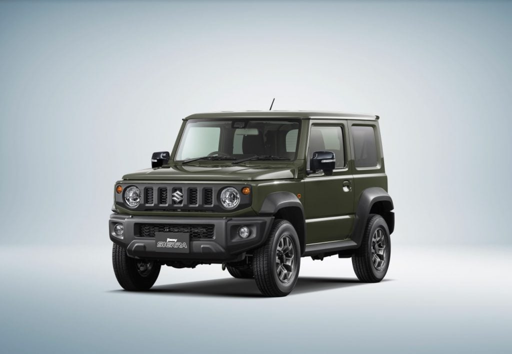 The Maruti Suzuki Jimny that's coming to India will be a five-door SUV!