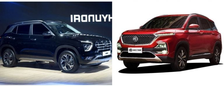 2020 Hyundai Creta Vs MG Hector – Specification Comparison
