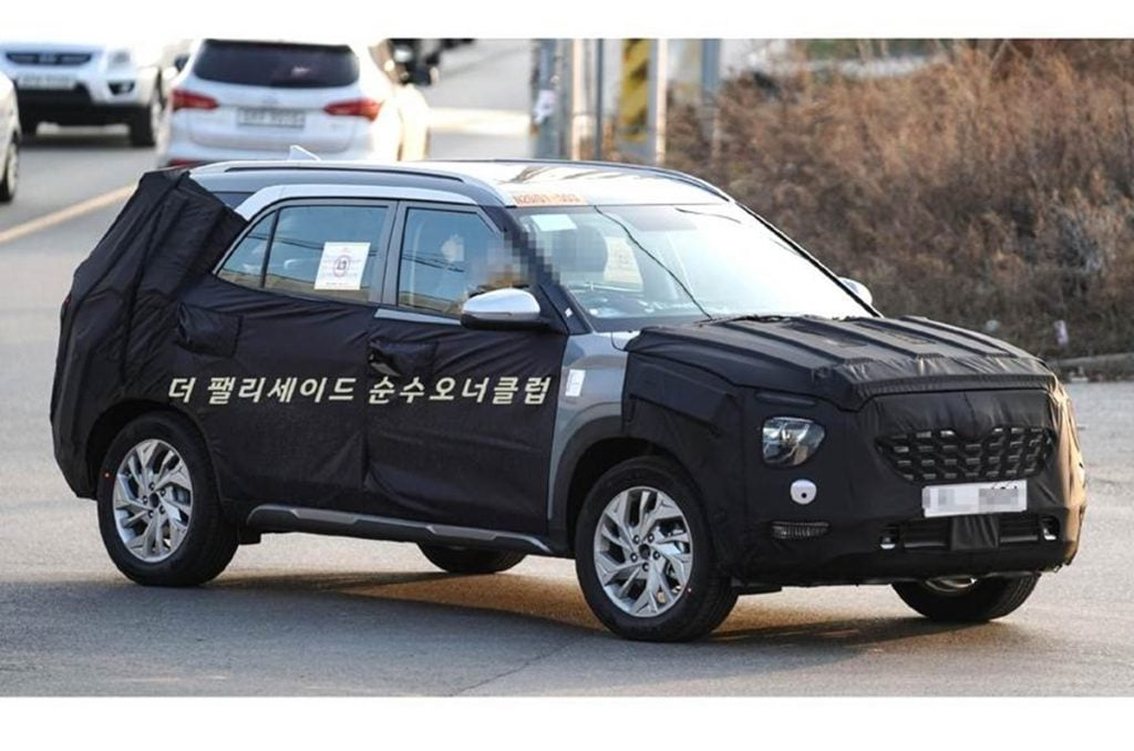 Le nom Alcazar pourrait en effet être utilisé pour la prochaine Hyundai Creta 7 places.
