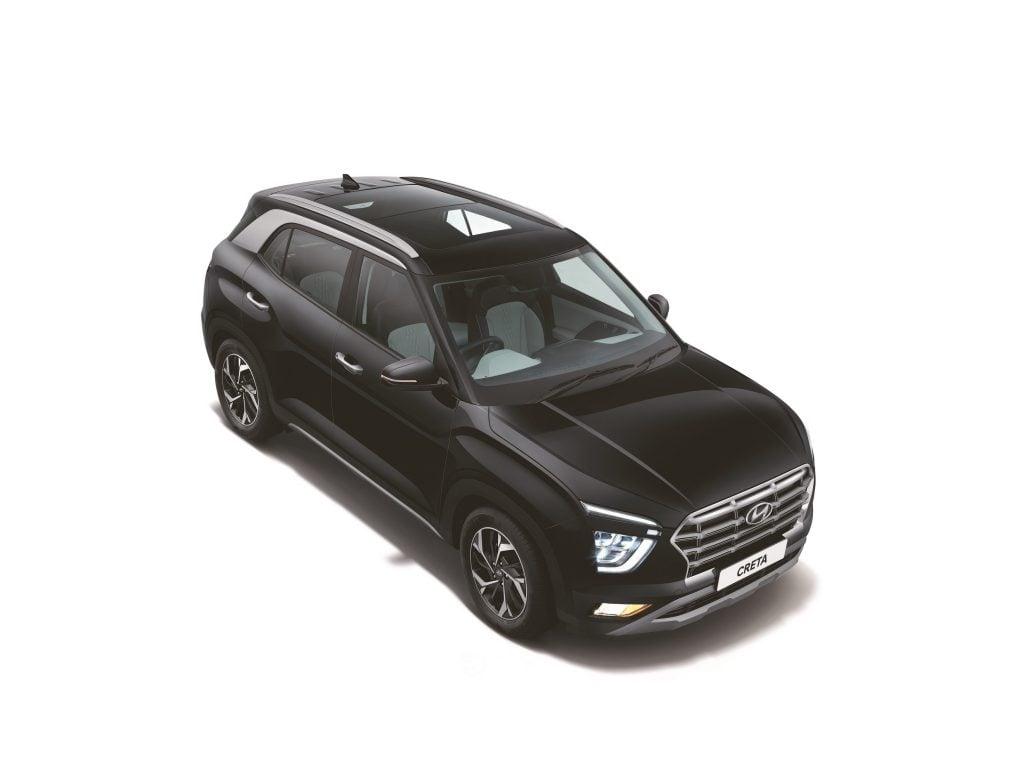 Intérieur de la Hyundai Creta 2020