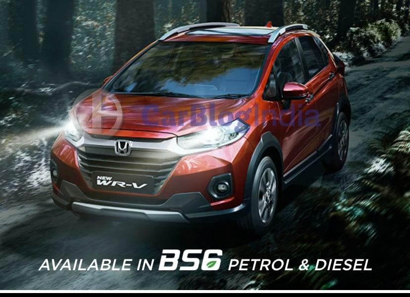 BS6 2020 Honda WRV