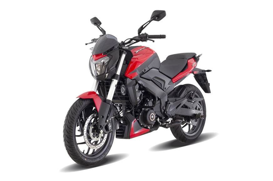 The Bajaj Dominar 250 however brakes better.