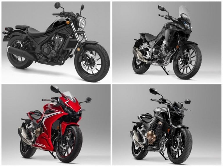 Big Bikes from Honda Headed for India With Their Entire 500cc Range!