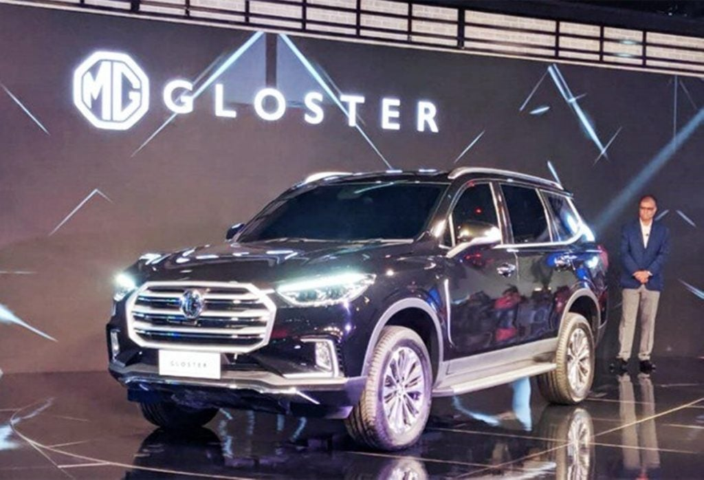 The Gloster will be MG Motors' seven-seater flagship SUV when its launched close to the festive season.