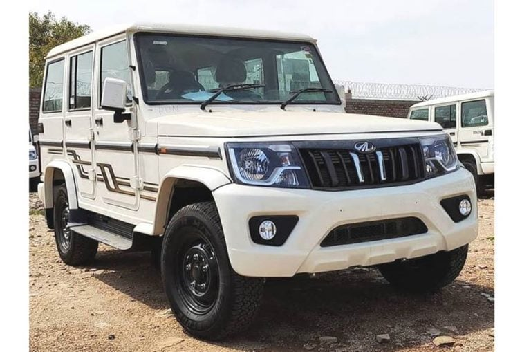 Mahindra Launches BS6 Bolero With Facelift and Price Starting from Rs 7.98 Lakh