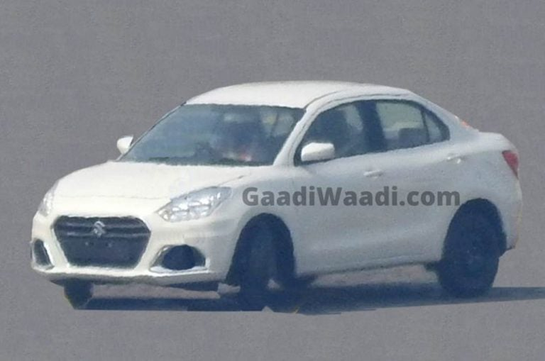 Here's Your First Look at the Maruti Suzuki Dzire Facelift that's Launching This Month!