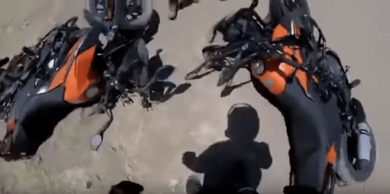 First Crash Video Of KTM 390 Adventure During Off-Roading Comes Up