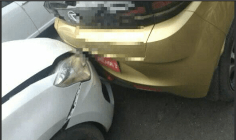 Tata Altroz First Accident Pictures- What Does It Tell Us About This Car's Safety?