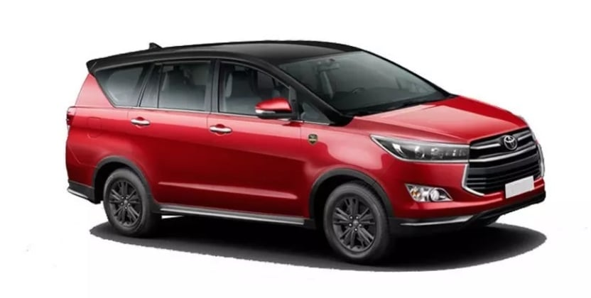 Toyota Innova Crysta Leadership Edition launched for a price of Rs 21.21 lakhs
